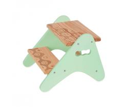 Schodíky drevené B-Toys