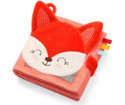 Senzorická textilné knižka BabyOno Fox Vincent