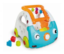Senzorické chodítko auto 3v1 B-Kids Discovery Car
