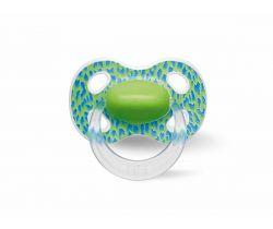 Cumlík anatomický silikónový Bibi Wild Baby Green