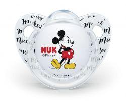 Silikónový anatomický cumlík Nuk Mickey transparent