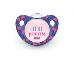 Silikónový cumlík Nuk Trendline Adore Little Princess