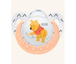 Silikónový  cumlík Nuk Winnie The Pooh ružová