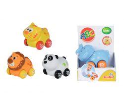 Veselé zvieratko na kolieskach Simba, 4 druhy