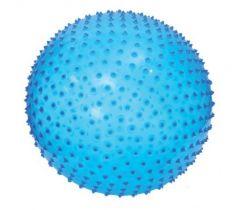 Skákacia a masážná lopta 45 cm modrý Ludi