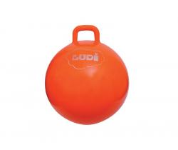 Skákacia lopta 55 cm oranžová Ludi