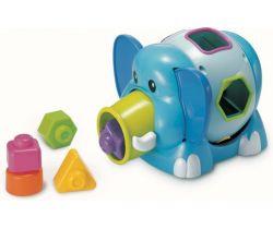 Slon Jumbo s vkladacími tvarmi B-Kids