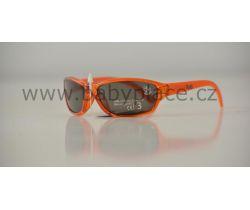 Slnečné okuliare pre deti Crazy Dog Crystal Fun Orange