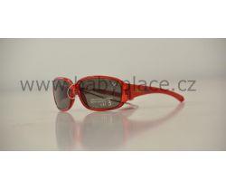 Slnečné okuliare pre deti Crazy Dog Crystal Fun Red