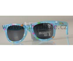 Slnečné okuliare pre deti Crazy Dog Little Artist Blue Bubbles