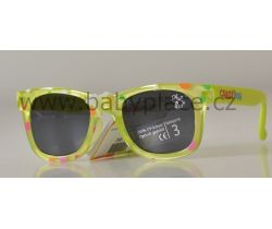 Slnečné okuliare pre deti Crazy Dog Little Artist Green Bubbles