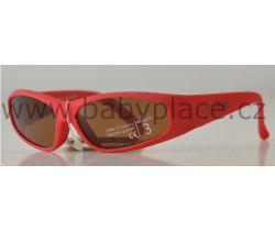 Slnečné okuliare pre deti Crazy Dog Soft Flex Red