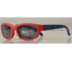 Slnečné okuliare pre deti Crazy Dog Soft Flex Red/Blue