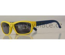 Slnečné okuliare pre deti Crazy Dog Soft Flex Yellow