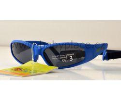 Slnečné okuliare pre deti s gumičkou Crazy Dog Kids modrá