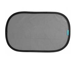 Slnečná clona do auta 2 ks Apramo Cling Shade Black