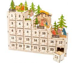 Adventný kalendár Small Foot Betlehem