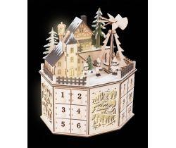 Adventný kalendár s vianočný pyramídou Small Foot