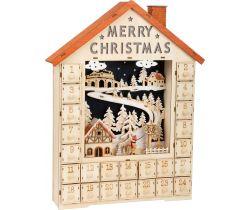 Adventný kalendár Small Foot Veselé Vianoce