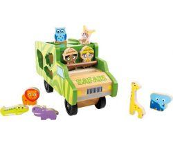 Autobus se zvířátky Small Foot Safari