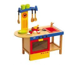 Detská drevená kuchynka Small Foot Magic