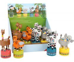 Tancujúci zvieratko 12 ks Small Foot Jungle