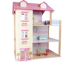 Domček pre bábiky Small Foot Ružová vila