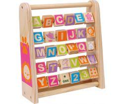 Drevená abeceda Small Foot Učíme sa anglicky