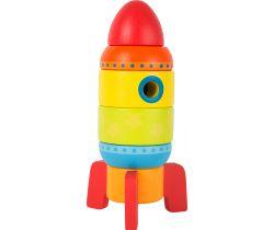 Farebná raketa Small Foot Drevená