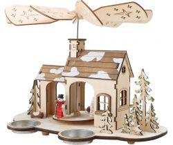 Drevená vianočné pyramída Small Foot Advent