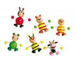 Drevené magnetky 6 ks Small Foot Zvieratká