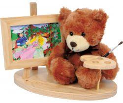 Drevený dekoratívny stojan s medvedíkom Small Foot