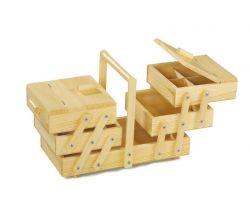 Drevený skladací poschodový box na čokoľvek Small Foot