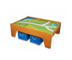Drevený stôl pre vláčikodráhu Small Foot