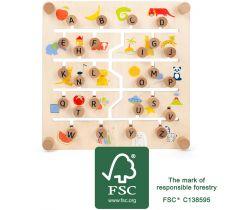 Edukatívne tabuľka Small Foot Anglická abeceda a čísla
