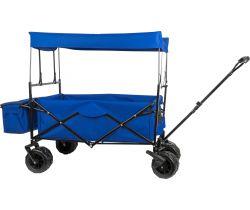 Kovový skladací vozík so strieškou Small Foot