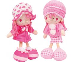 Látkové bábiky Small foot Nora a Emily