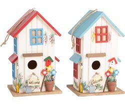 Set drevená vtáčia búdka Small Foot Vila 2 ks