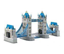 Trojvrstvové penové 3D puzzle Small Foot Tower bridge