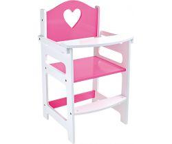 Vysoká drevená stolička Small Foot
