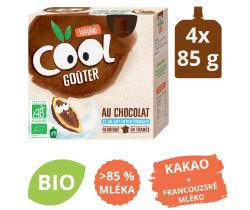 Snack mliečne BIO kapsičky 4x85g Vitabio Kakao