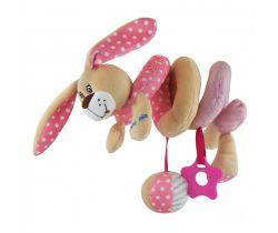 Špirálka do postieľky BabyMix Pink Rabbit