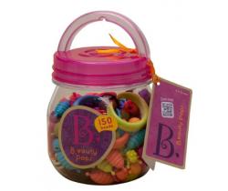 Spojovacie korále a tvary 150 ks B-Toys Beauty Pops