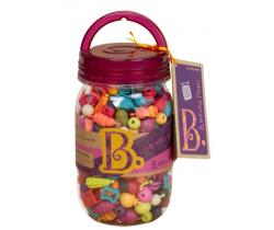 Spojovacie korále a tvary 275 ks B-Toys Beauty Pops