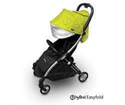 Športový kočík hyBrid by BabyStyle Ezyfold Chrome Silver