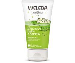 Sprchovací krém a šampón 150 ml Weleda 2v1 Veselá limetka