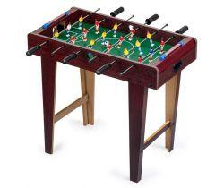 Stolný futbal 69x36x62 cm EcoToys Brown