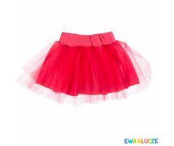 Sukienka tyl Ewa Klucze Emu Pink