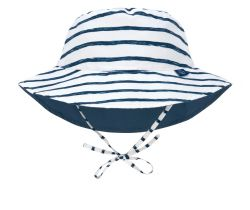 Klobúčik proti slnku Lässig Sun Bucket Hat Stripes Navy