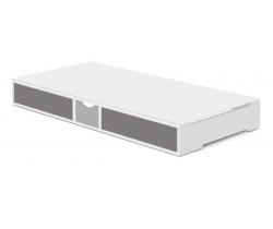Šuplík pre posteľ 140x70 cm Faktum Holly Grey